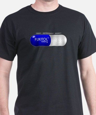 Fukitol Dark Color Clothes T-Shirt