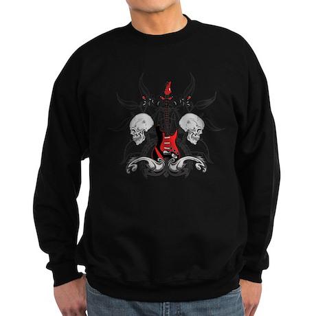 Grunge Guitar Sweatshirt (dark)