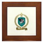 LORRAIN Family Crest Framed Tile