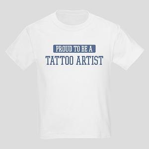 Proud to be a Tattoo Artist Kids Light T-Shirt