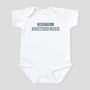 Proud to be a Registered Nurs Infant Bodysuit
