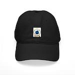 LUCAS Family Crest Black Cap
