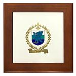 LUCAS Family Crest Framed Tile