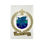 LUCAS Family Crest Rectangle Magnet (100 pack)