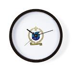 LUCAS Family Crest Wall Clock