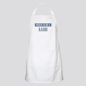 Proud to be a Rabbi BBQ Apron