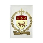 LUVE Family Crest Rectangle Magnet (10 pack)