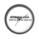 We've Got An Eye On Atlanta! Wall Clock