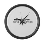 We've got an eye on Atlanta! Large Wall Clock