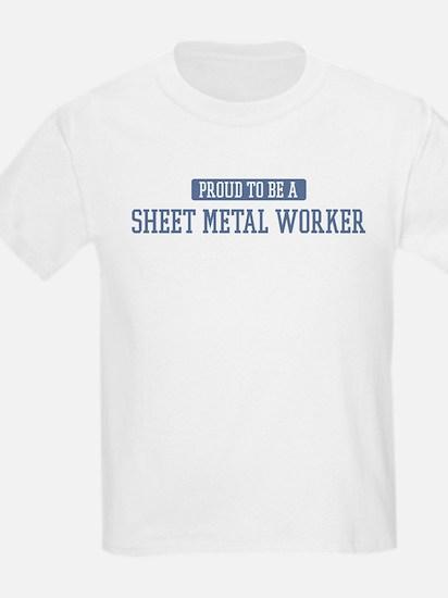 Proud to be a Sheet Metal Wor T-Shirt