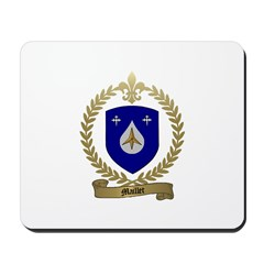 MAILLET Family Crest Mousepad
