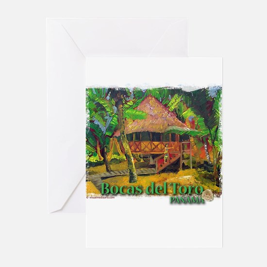 Bocas del Toro, Panama Greeting Cards (Package of