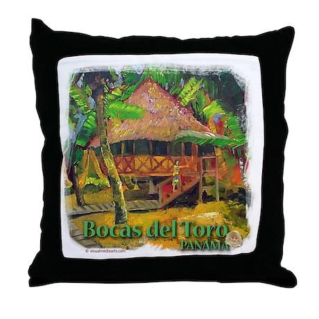 Bocas del Toro, Panama Throw Pillow