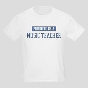 Proud to be a Music Teacher Kids Light T-Shirt