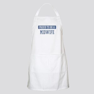 Proud to be a Midwife BBQ Apron