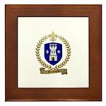 MAISONNAT Family Crest Framed Tile