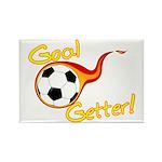 Goal Getter Rectangle Magnet