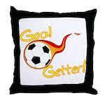Goal Getter Throw Pillow