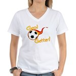 Goal Getter Women's V-Neck T-Shirt