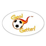 Goal Getter Oval Sticker (50 pk)