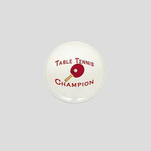 Table Tennis Champion Mini Button