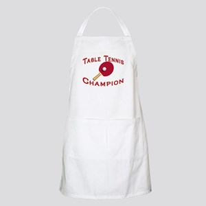 Table Tennis Champion BBQ Apron