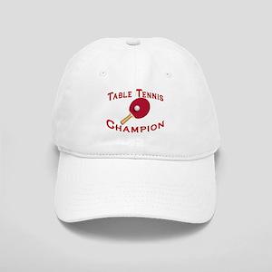 Table Tennis Champion Cap