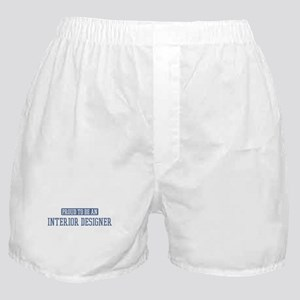 Proud to be a Interior Design Boxer Shorts