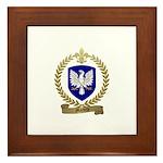 MARTELLE Family Crest Framed Tile
