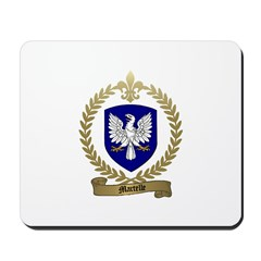 MARTELLE Family Crest Mousepad
