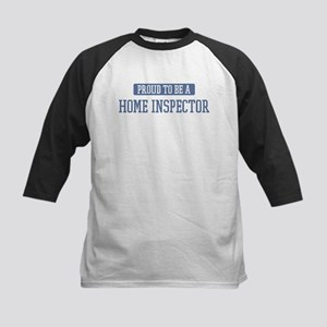 Proud to be a Home Inspector Kids Baseball Jersey