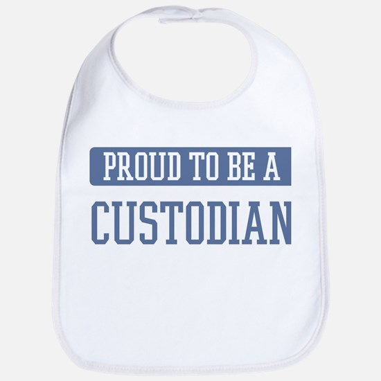 Proud to be a Custodian Bib