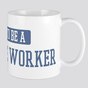 Proud to be a Childcare Worke Mug