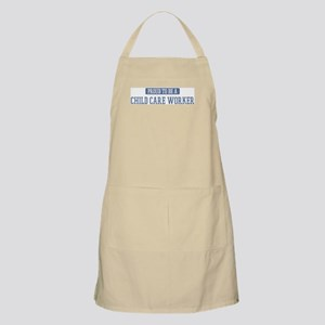 Proud to be a Child Care Work BBQ Apron