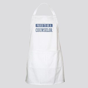 Proud to be a Counselor BBQ Apron