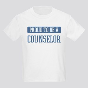 Proud to be a Counselor Kids Light T-Shirt