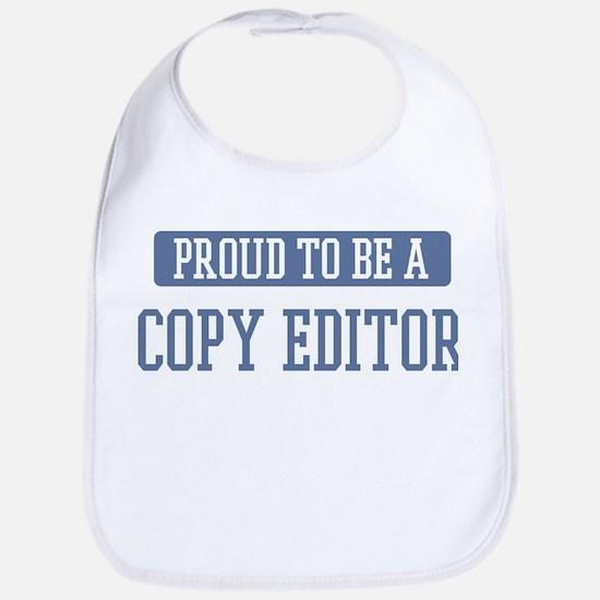 Proud to be a Copy Editor Bib