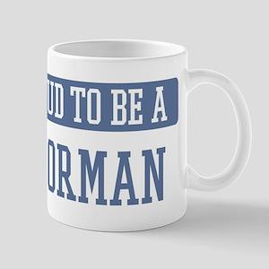 Proud to be a Doorman Mug