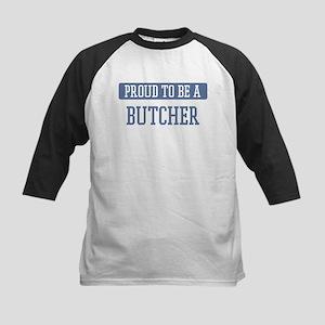 Proud to be a Butcher Kids Baseball Jersey