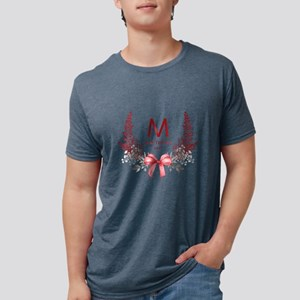 Elegant Holiday Monogram T-Shirt