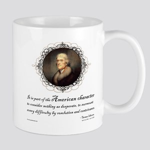 Jefferson Quote: Character Mug