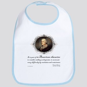 Jefferson Quote: Character Bib