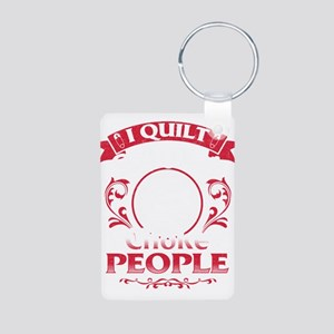 Funny Quilting T-Shirt Keychains