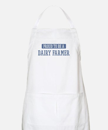 Proud to be a Dairy Farmer BBQ Apron