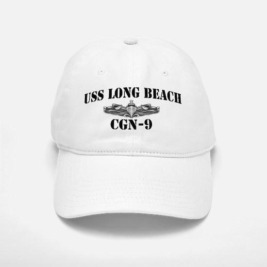 USS LONG BEACH Baseball Baseball Cap