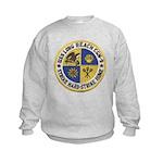 USS LONG BEACH Kids Sweatshirt