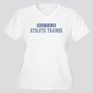 Proud to be a Athletic Traine Women's Plus Size V-