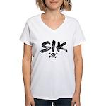 SIK Women's V-Neck T-Shirt