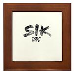 SIK Framed Tile