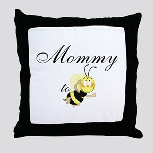 Mommy 2 be Throw Pillow